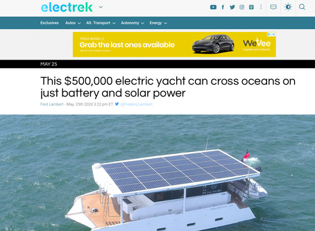 In the news with Electrek!