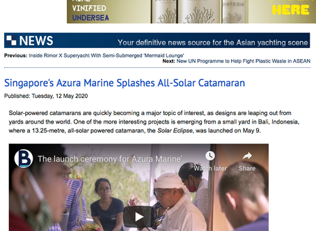 Azura Marine hits the news with Asia-Pacific Boating Magazine!