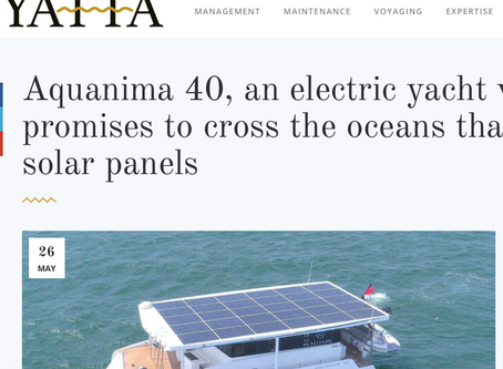 The Aquanima 40 featured in Yatta!