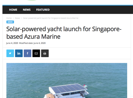 Sustainable Boat News covers the launch of Eclipse!