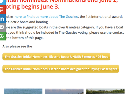 Vote For Us In The Plugboats Gussie Awards!