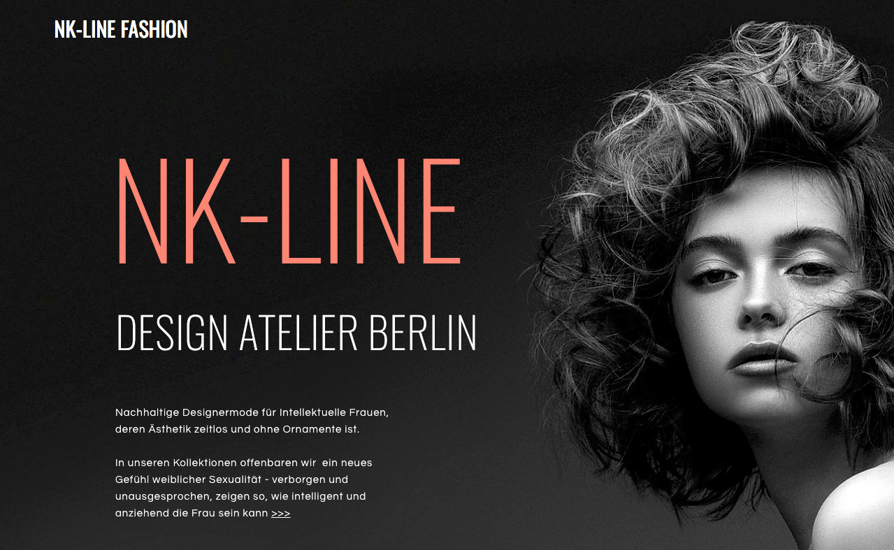 NK-LINE   FASHION & MODEDESIGN   BERLIN