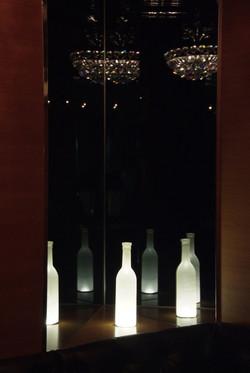 GODDESS Wine bottle Light