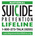 The National Suicide Prevention Lifeline is a national network of local crisis centers that provides free and confidential emotional support to people in suicidal crisis or emotional distress 24 hours a day, 7 days a week. We're committed to improving crisis services and advancing suicide prevention by empowering individuals, advancing professional best practices, and building awareness.