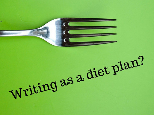 Writing as a diet plan?