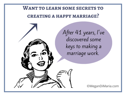 Keys to creating a happy marriage