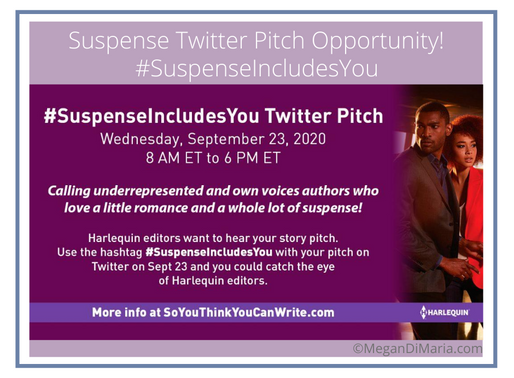 Opportunity Alert for Suspense Authors
