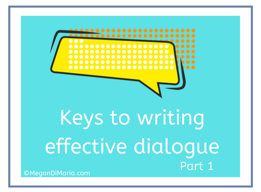 Keys to writing effective dialogue, part 1