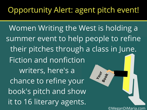 Opportunity alert: agent pitch event!