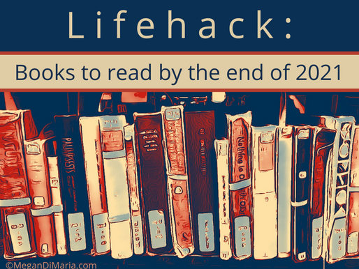Lifehack: Books to read by the end of 2021