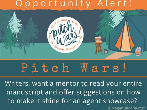 Opportunity Alert: Pitch Wars