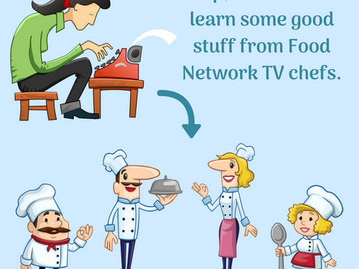What writers can learn from Food Network TV chefs