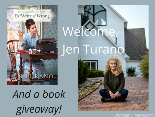 Fun interview with author Jen Turano & a giveaway!