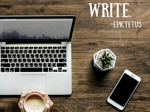 How to move from dreaming of writing TO BEING a writer.