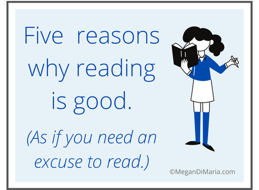 Five reasons why reading is good