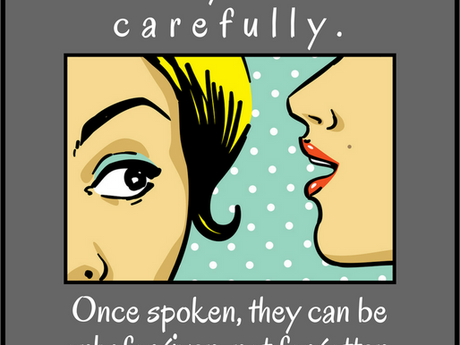 Eight reasons why you should guard your words