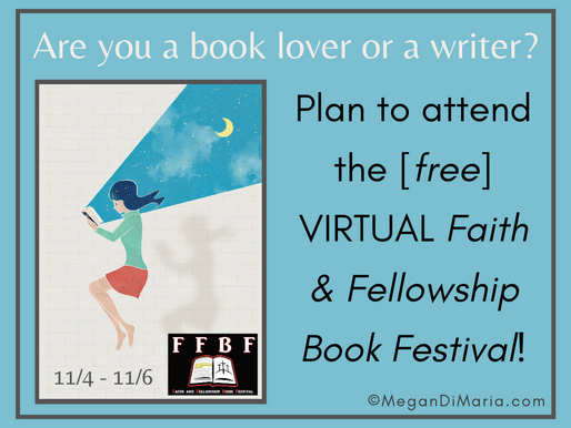 Attend the VIRTUAL Faith & Fellowship Book Festival!