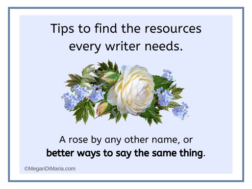 Writers: resources and tips for crafting better descriptions