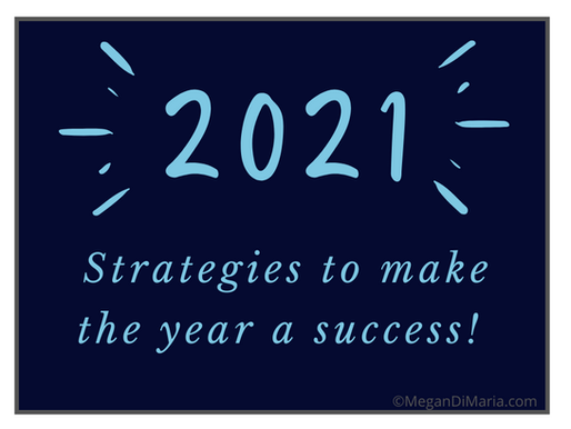 Mindful strategies for a successful 2021