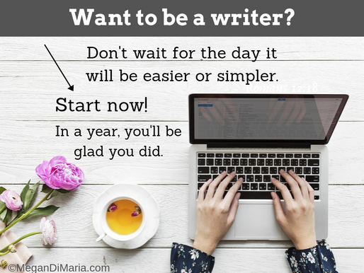Want to be a writer? Here's some advice: