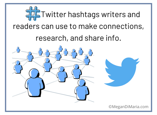 Useful Twitter hashtags for writers and readers