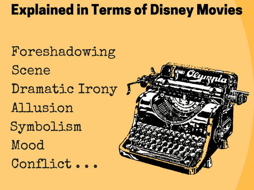16 Writing Techniques Explained in terms of Disney Movies