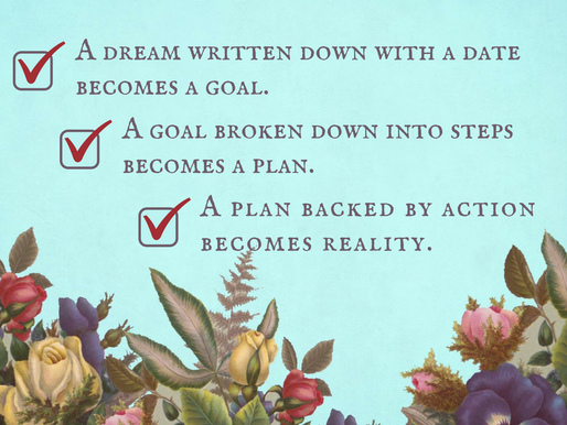 Three Simple Steps to Move You from Dreamer to Writer