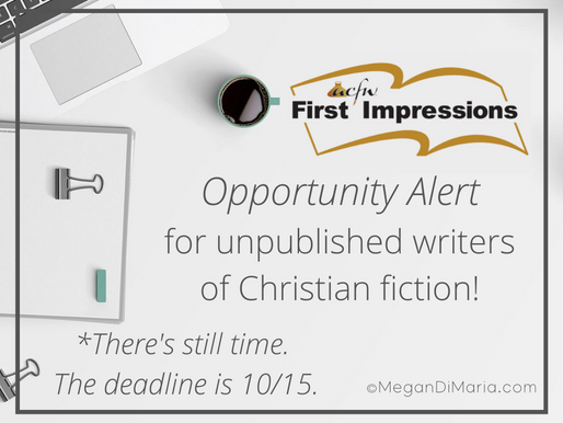 #Opportunity Alert for unpublished writers of Christian fiction
