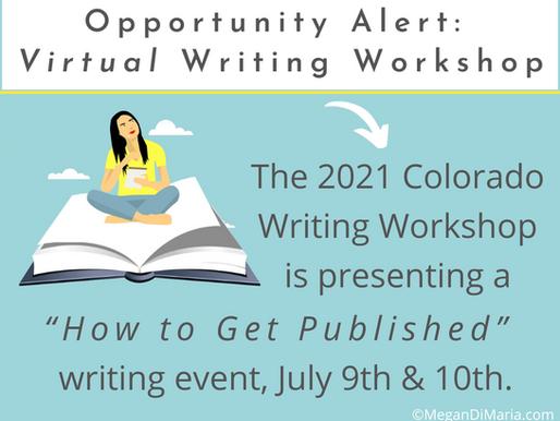 Opportunity Alert: Online Writing Workshop