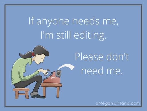 Still editing . . .