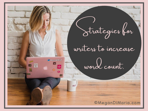 Strategies for writers to increase word count