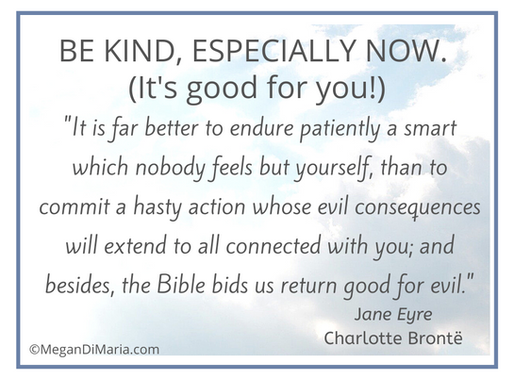 Why being kind is good for you and others—especially now!