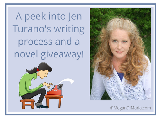 A peek into a successful author's process and a novel giveaway!