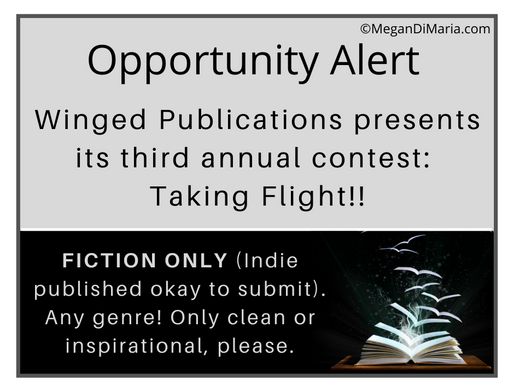 Opportunity Alert for Clean or Inspirational Fiction