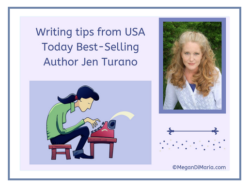 Writing tips from USA Today Best-Selling Author Jen Turano