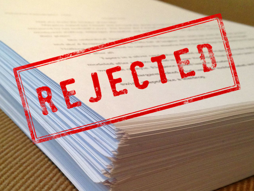 Writers, learn to put rejection in perspective