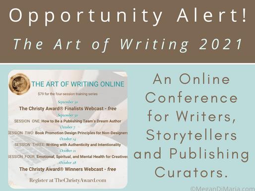 Opportunity Alert: The Art of Writing 2021