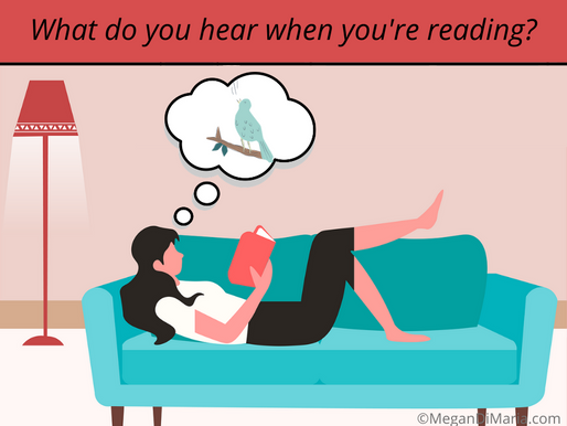 What do you hear when you're reading?