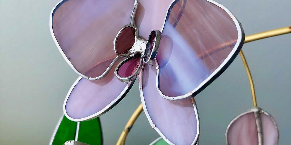 Workshop Glazen orchidee maken Za 25 sept