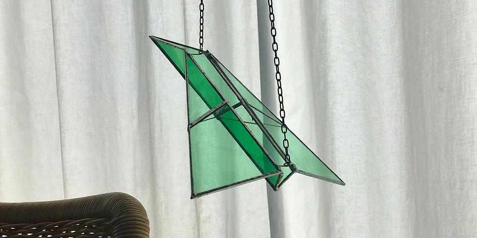 Workshop Glazen Vliegtuig maken Woe 3 nov