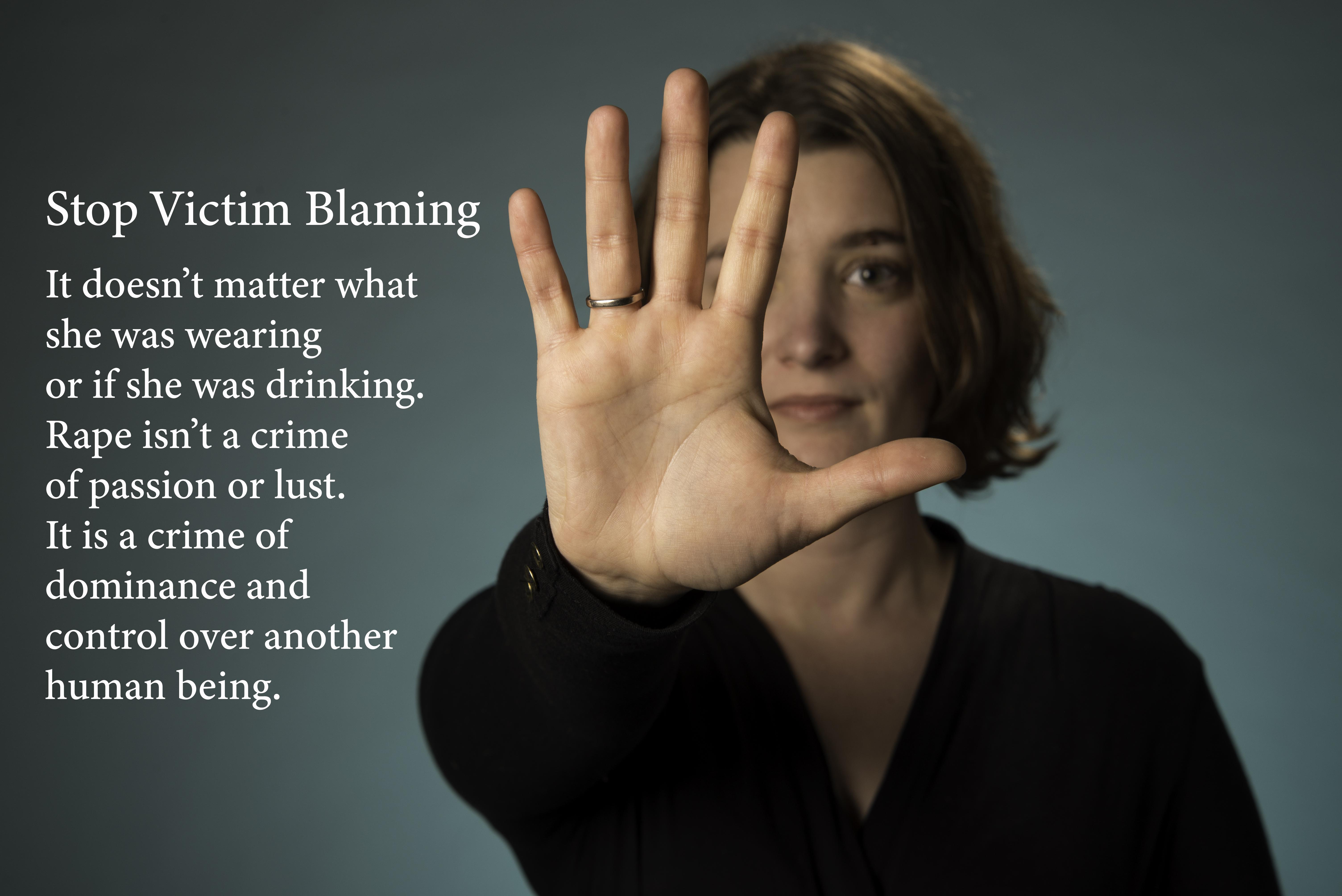 Stop Victim Blaming