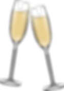iStock-1077614786 CHAMPAGNE GLASSES TOAS
