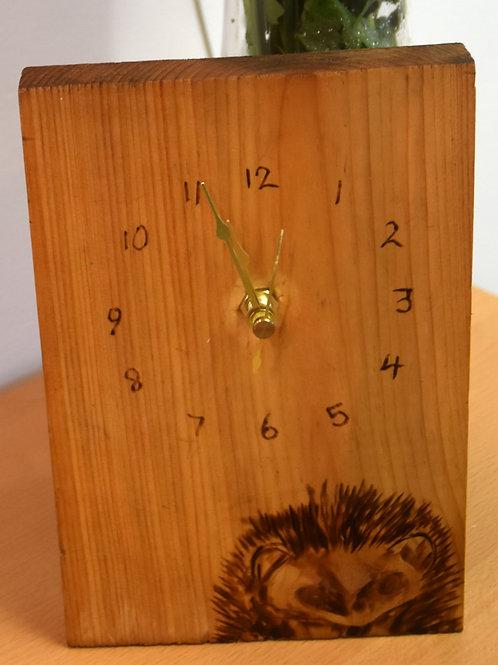 Hedge Hog Clock