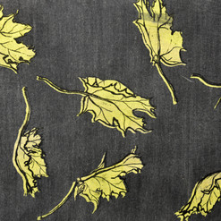 Denim Leaves - Screen Print.jpg