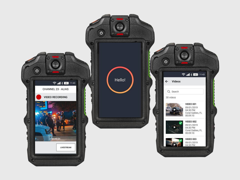 Body-Worn Camera Mobile App