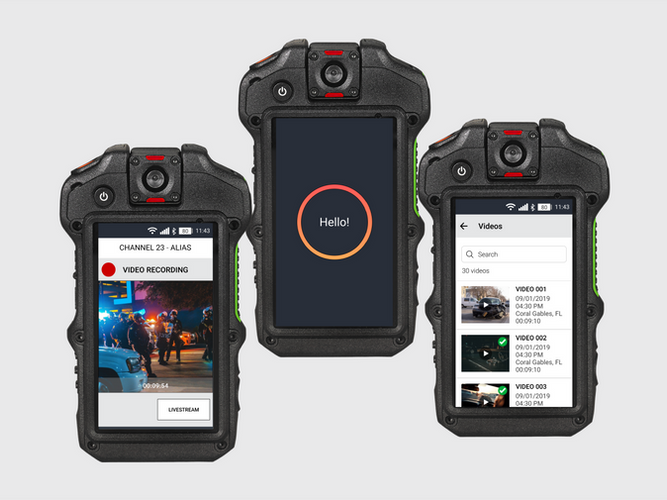 Body-Worn Camera Mobile App
