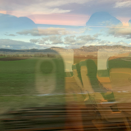 Un productivo viaje en tren