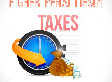 IRS warns of higher penalties for filing after June 14 | Accounting Today