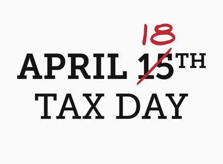 2018 Tax Return Deadline Extended!!!