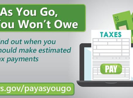 IRS Estimated Tax